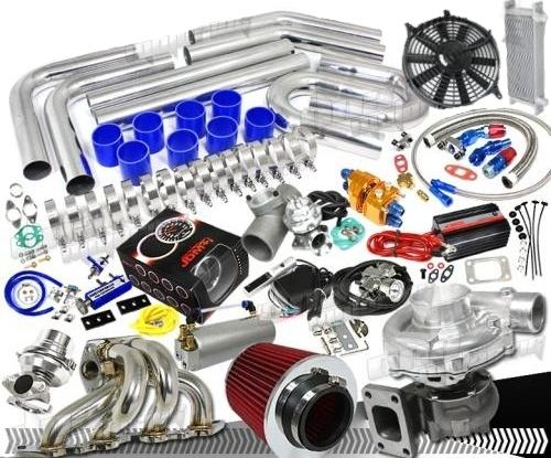 Ford Turbo Kit High Performance Turbocharger - Fits Ford Models Universal  Kit