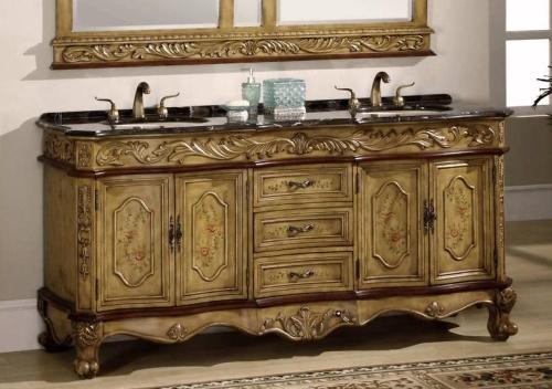 high quality 73 bathroom vanity cabinet w marble top