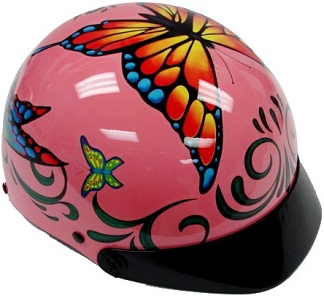 Adult ButterflyCraft Motorcycle Helmet Main ... and Corine Franco of the French women's soccer team posed nude for ...