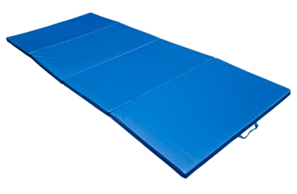 4 X10 X2 Quot Folding Gym Exercise Mat Blue