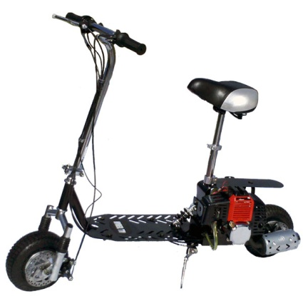 49cc dirt dog gas scooter