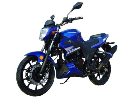 Brand New 250cc 4 Stroke Street Legal Motor Bike