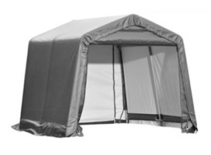 This Portable Shed / Car Port is an ideal space-conserving shelter that is especially designed to resist rain ...  sc 1 st  SaferWholesale & Portable Shelter 10u0027 x 10u0027 x 8u0027 Storage Shed Car Port