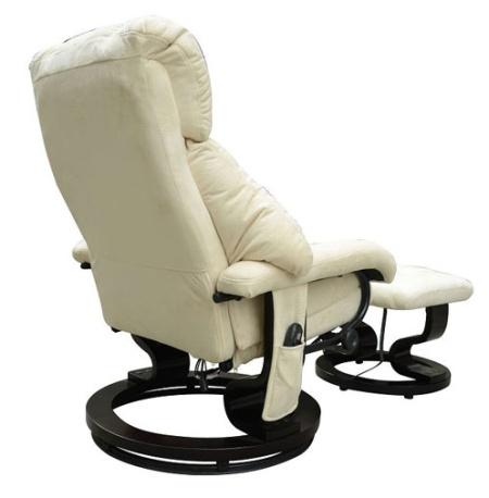 fice Heated Recliner Vibrating Massage Chair W Ottoman