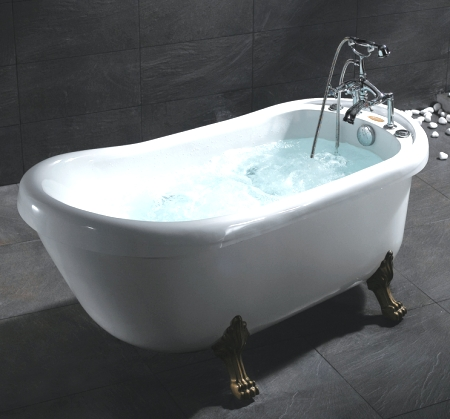 whisper brand new ariel bt062 whirlpool jetted bath tub