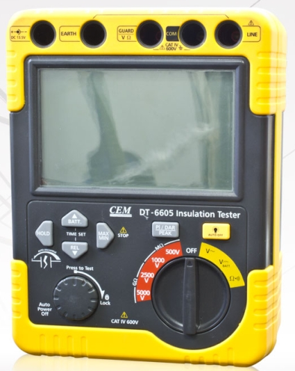 High Voltage Measuring Tool : High quality insulation resistance tester meter pro