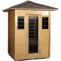 3 Person Outdoor Carbon Infrared Sauna