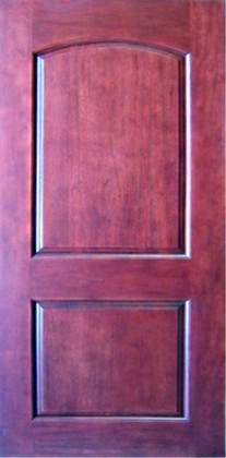 High quality solid wood mahogany 2 panel interior door 96 for Interior 96 inch doors