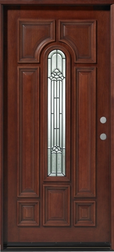 Home entrance door solid front door for Solid wood exterior doors for sale