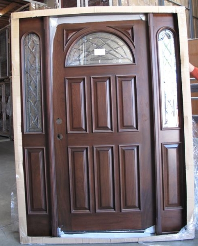 Wood Entry Doors with Side Lights 404 x 500 · 148 kB · jpeg
