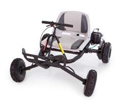brand new go ped trail ripper quad gas powered go cart. Black Bedroom Furniture Sets. Home Design Ideas