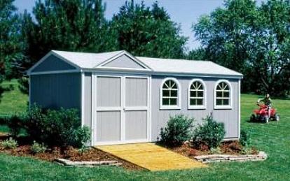 High Quality Tudor 10 39 X 18 39 Garden Tool Shed Kit