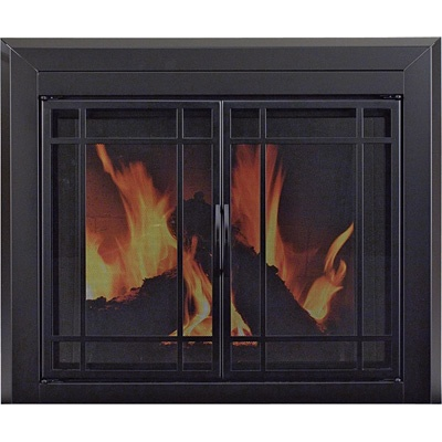 Brand New Easton Fireplace Glass Door