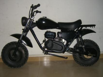 200cc Black Storm Mini Bike