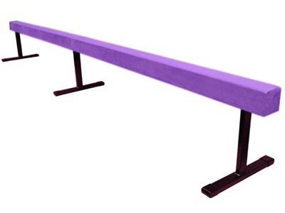 High Quality Purple 12 Gymnastics Balance 18 Beam
