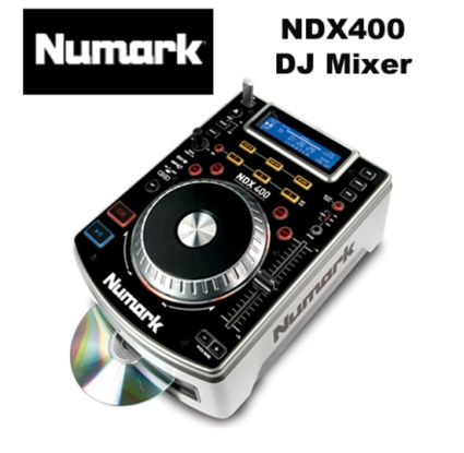 Máy Dj Numark NDX400 Tabletop Scratch MP3/ CD Player With USB