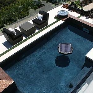brand new solar powered floating pool pump filter system. Black Bedroom Furniture Sets. Home Design Ideas