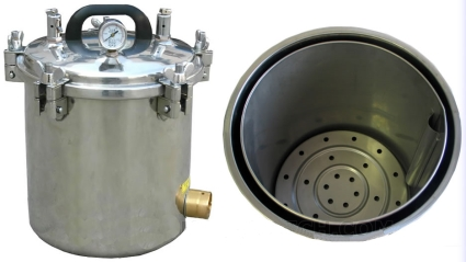 Brand new 12l autoclave portable steam sterilizer for Cheap autoclaves tattooing