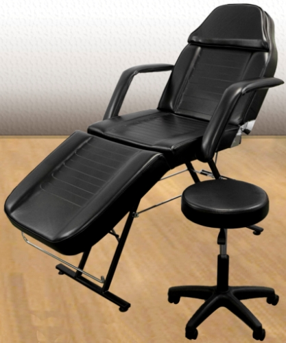 Brand new adjustable salon spa facial massage chair bed for Cheap tattoo tables