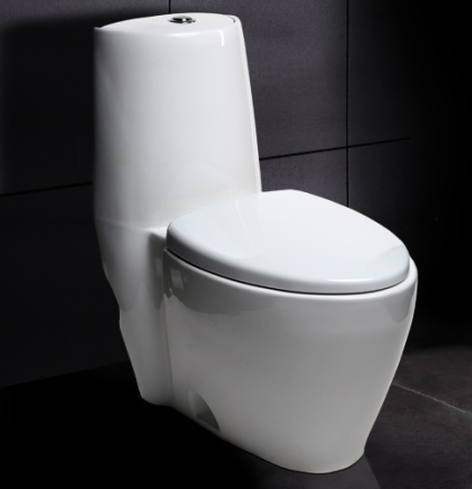 Ariel 328 contemporary european toilet with dual flush for Toilets in european bathroom