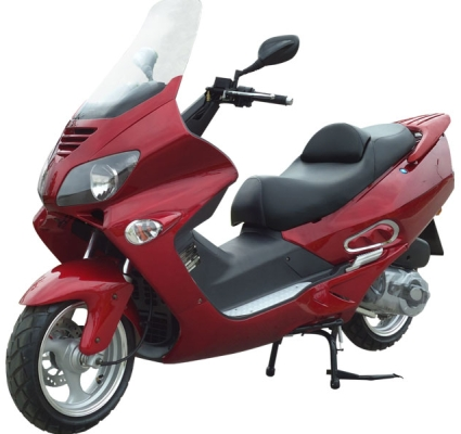 300cc Deluxe Touring Gas Moped Scooter