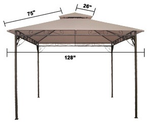 King Canopy 10' x 20' Hercules Canopy replacement covers - ShopWiki