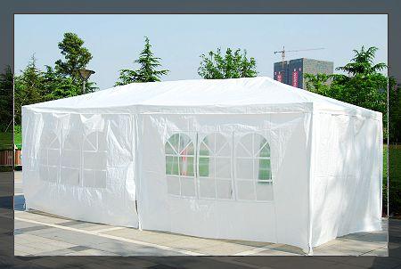 10 X 20 White Gazebo Party Tent Canopy