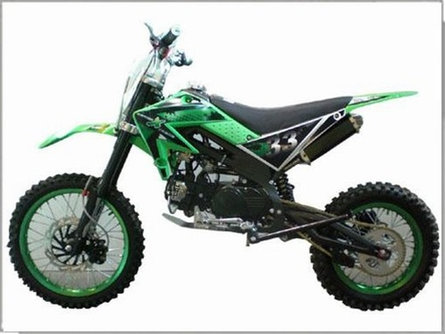 125cc Manual Dirt Bike
