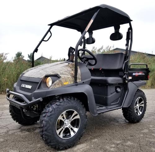 Side By Side Utv >> Brand New Gas Golf Cart Hunting Utv Hybrid Linhai Big Horn 200 Vx Side By Side Utv Hunters Edition With Gun Rack