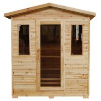 Grandby 300D 3 Person Outdoor FAR Infrared Sauna