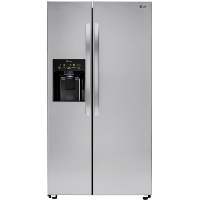 LG LSXS26336S 26.2 cu. ft. Side-by-Side Refrigerator - Stainless Steel (Scratch and Dent Model)