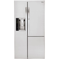 LG LSXS26366S 26.1 cu. ft. Side-by-Side w/Door in Door Refrigerator - Stainless Steel (Scratch and Dent Model)