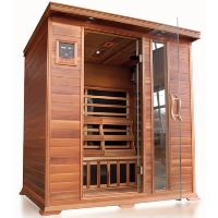Savannah 3 Person Infrared Sauna with Carbon Heaters