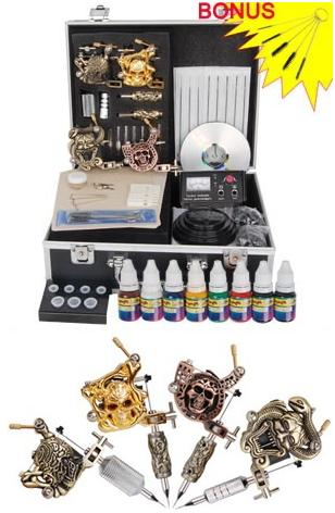 High Quality Empaistic Reign 4 Guns Tattoo Machine Kit