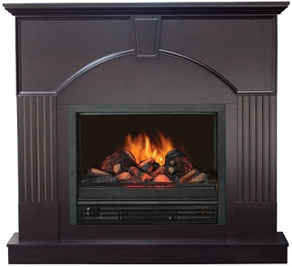high quality large flametec 1250 watt electric fireplace
