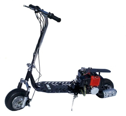 49cc dirt dog 2 stroke gas scooter for What is a motor scooter