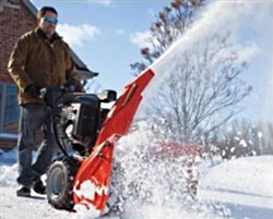 "Brand New Professional 32 Electric Start Snow Blower with 32"" Clearing Width"