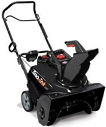 "Brand New Sno-Tek Electric Start Snow Blower with 22"" Clearing Width"