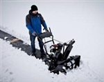 "Brand New Sno-Tek Electric Start Snow Blower with 28"" Clearing Width"