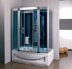 "Standard 60"" Tub w/ Shower Cabin and Computer Control"