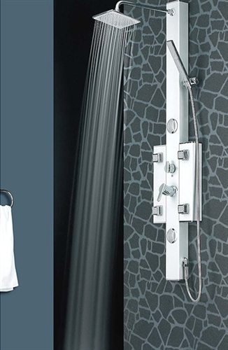 Luxury Shower Massage Panel With 4 Functions 6 Jets U0026 Display