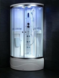 "36"" Ariel SS-902A Steam Shower Enclosure Unit"