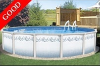 Atlantis 15 Round 52 Steel Pool with 6 Toprail at Sears.com