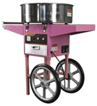 Brand New Electric Commercial Cotton Candy Machine Cart