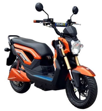 brand new boom 2000w electric scooter type 575z moped scooter. Black Bedroom Furniture Sets. Home Design Ideas