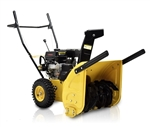 196cc Electric Start / Two Stage Snow Blower - Yellow