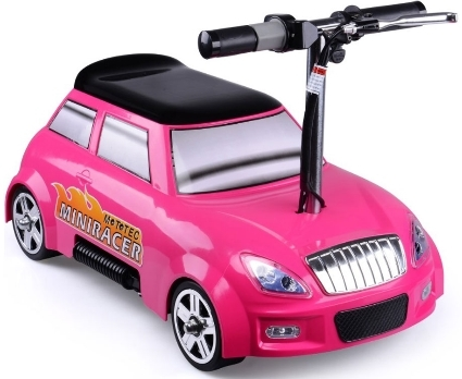 mototec 24v mini racer v2 pink kids power wheels car