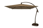 Seabrooke 10' Square Cantilever Umbrella w/ Base