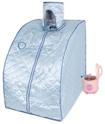 Blue Portable Steam Sauna Box
