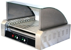 11 Roller Hot Dog Warming Machine